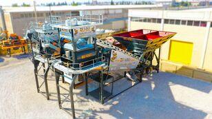 neue FABO TURBOMIX-120 MOBILE CONCRETE PLANT READY IN STOCK Betonmischanlage