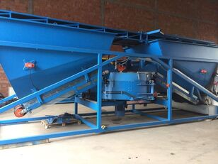 neue SUMAB OFFER! K-60 (Pan mixer: 1800/1200 litres) Mobile concrete plant Betonmischanlage