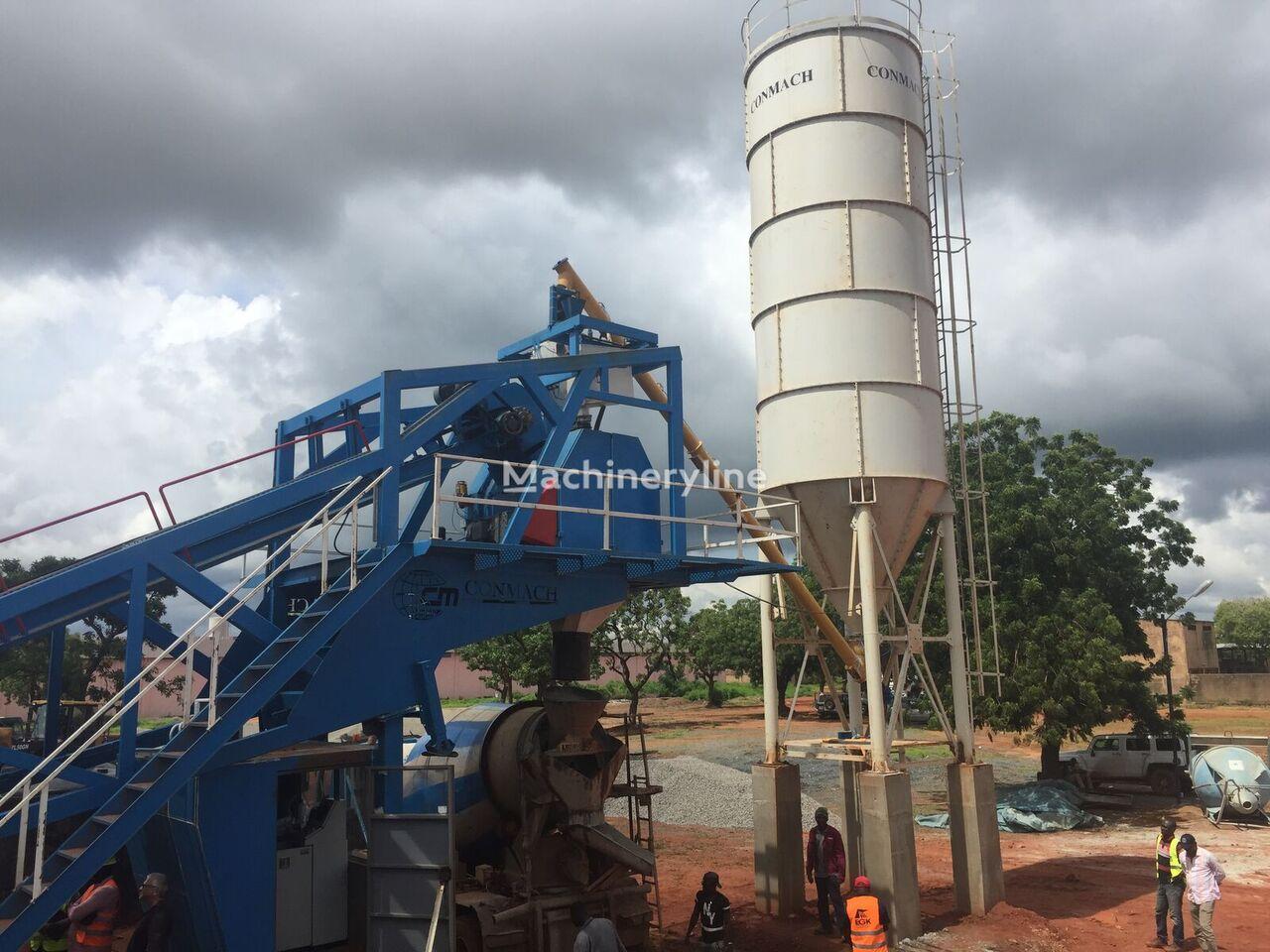 neue CONMACH MOBKING-60 Betonmischanlage