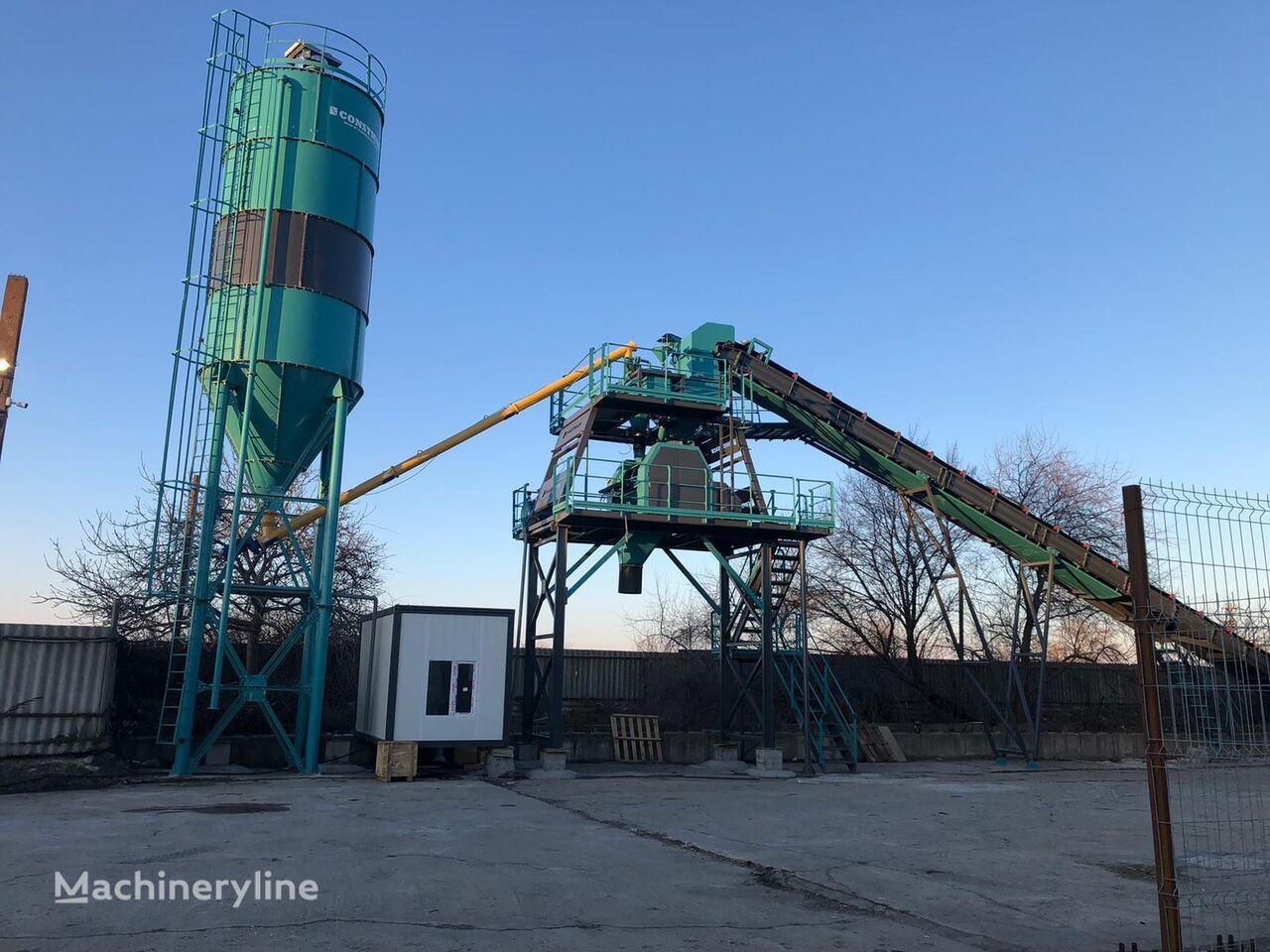 neue CONSTMACH 60 m3 Concrete Batching Plant For Sale Best Price Betonmischanlage
