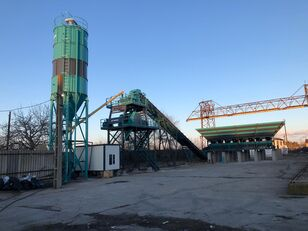 CONSTMACH Best Price - 60 m3 Fixed Concrete Batching Plant Delivered from  Betonmischanlage