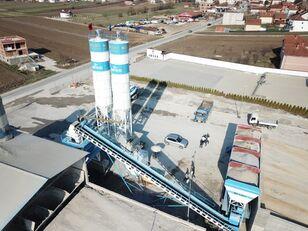 neue FABO POWERMIX-100 STATIONARY CONCRETE BATCHING PLANT Betonmischanlage