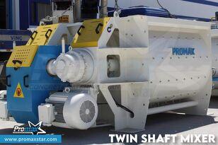 neuer PROMAX 2 m3 /3 m3 TWIN SHAFT MIXER Betonmischer