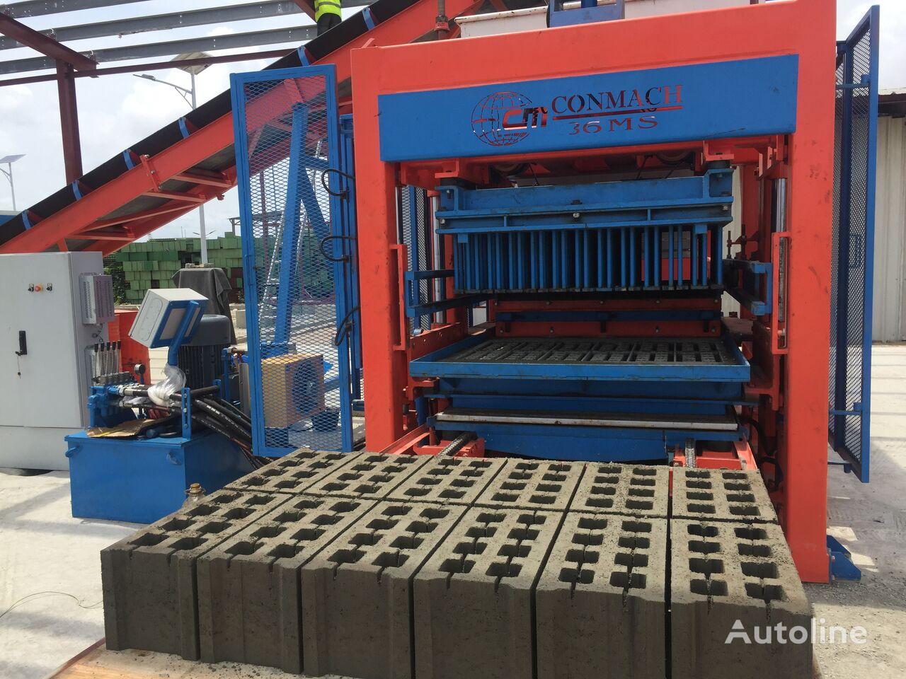 neue CONMACH BLOCKKING-36 MS Betonsteinmaschine