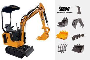 neuer BERGER KRAUS Mini Excavator BK800BS torsion arm with FULL equipment Minibagger