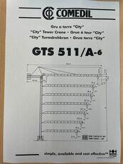 COMEDIL GTS 511 Turmdrehkran